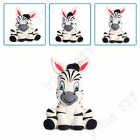 charme de zebra venda por atacado-2019 Novo Bonito Squishy Zebra Cavalo Lento Rising Jumbo Animal Macio Scented Squeeze Encantos Do Brinquedo Bolo Pão Kid Brinquedos presentes 13 * 7.5 CM