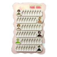 esmalte de uñas color tablero al por mayor-48 Colores Nail Art Gel Polaco Color Tableros de tarjetas Exhibición de uñas Color completo Rack Consejos de manicura Mostrar caso Libros