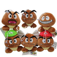 Wholesale goomba plush for sale - Group buy Top New Styles quot CM Super Mario Bros Goomba Plush Doll Stuffed Pendants Best Gifts Soft Toys