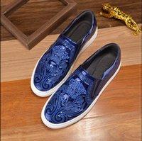 modelos masculinos zapatos casuales al por mayor-Estilo europeo Cuero genuino Moda hombre zapatos de ocio clásico modelo masculino zapatos casuales zapatos de vestir de negocios. Gran código 37 46