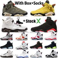Wholesale premium sneakers for sale - Group buy Travis Scotts PSG s Premium Mens Basketball Shoes Cactus Jack Black Infrared Bred M Reflective Bugs Bunny Men Sports Designer Sneakers