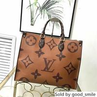 Wholesale women s totes resale online - women s leather shoulder mixed color designer handbag Ladies messenger bag brands Totes