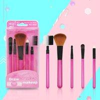 Wholesale beginner makeup sets resale online - 5pcs Makeup Brush Set Beginner Beauty Tools Makeup Brush Blush Eye Shadow Lip Concealer Brush Face Cosmetic