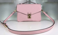 women Messenger leather women's handbag pochette shoulder crossbody 41487
