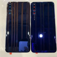 батарея чести оптовых-Оригинал Axisinternational Для Huawei Honor Magic 2 Стекло Задняя Крышка Батарейного Отсека Чехол Для Honor Magic2 Замена Корпуса Задней Двери