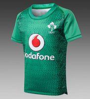 rugby kinder großhandel-2018 Irland IRFU Kinder Rugby Jersey TONGA KIDS SCHOTTLAND FIJI Maori Rugby 2018 ULSTER Kinder RUGBY JERSEY