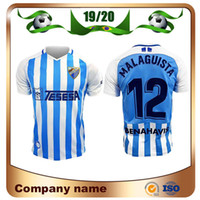 Wholesale blanco shirt for sale - Group buy 2020 MALAGA Soccer Jersey Home Blue MALAGUISTA JUANPI BLANCO JUANKAR Soccer Shirt R SANTOS ONTIVEROS GONZALEZ ANOR football Uniform
