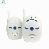 tragbarer drahtloser monitor groihandel-2,4 GHz Wireless Baby Monitor Tragbare Digital Audio Monitor Alarm Walkie Talkie Intercoms Elektronisches Radio Nanny Monitor