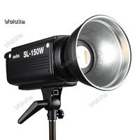 солнечные сетчатые огни оптовых-Godox фотографическая лампа SL150w свет LED чистая красный видео Студия Солнечная лампа дети фото заполнить свет CD50 T03
