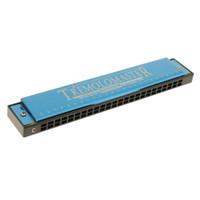 Wholesale 24 hole tremolo harmonica resale online - 24 Holes Harmonica C Key Harmonica Tremolo for Woodwind Instrument Lovers
