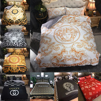 Wholesale 3d christmas bedding sets resale online - Fashionable Bedding Set King Size Classic High End Cover Luxury Queen Twin Full Single Double Comfortable Bed Cover Christmas Gift
