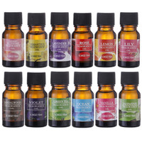 Wholesale essential oils for sale - Group buy Essential Oils ml Flower Fruit Essential Oil For Aromatherapy Diffusers Air Freshening Body Massage Relieve Oil Skin Care