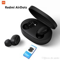 rauschunterdrückung drahtloses bluetooth großhandel-Xiaomi redmi airdots pk i7s i9s tws bluetooth 5.0 kopfhörer stereo aktive rauschunterdrückung mit mikrofon freisprecheinrichtung ohrhörer ai control