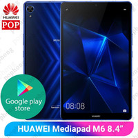 Wholesale huawei tablets pc online – Original Huawei Mediapad M6 inch GB GB WIFI tablet PC Kirin980 Octa Core Android Google play mAh Type C x1600