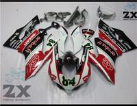 verkleidung moto großhandel-Motorradverkleidung 1199 Kit Karosserie für 1299 1199s 1199 899 Fairing Kit 2012 2013 2014 Sportbike ABS Motorrad-Karosserie Moto