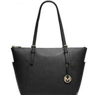 ingrosso designer sacchetto di mk-Commercio all'ingrosso 2019 donne designer pianura borse borse di marca 5 stili colori spalla tote pochette cuoio borse da donna borse portafoglio #MK