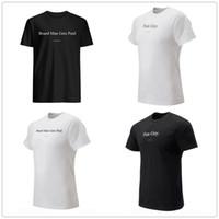 markalı gömlek logoları toptan satış-Kurulu Adam Ücretli Alır erkek tasarımcı t-shirt Kawhi 2 Leonard Eğlenceli adam Fanlar Üstleri Tee Siyah Beyaz baskılı marka logoları Basketbol forması gömlek