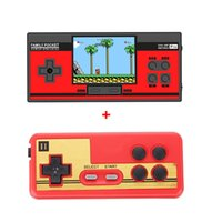 Wholesale newest video game console for sale - Group buy RS CoolBaby Newest Mini Handheld Game Consoles Portable Retro NES FC Game machine Av out video game player Games