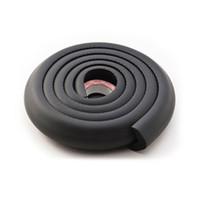 детская угловая подушка оптовых-Essential Home High Elastic 2M NBR Foam Kids Safety Table Corner Softener Cushion Strip Double-sided Adhesive Guard Protector