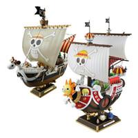 ein stück boot modell großhandel-35 cm Anime One Piece Thousand Sunny Meryl Boot Piratenschiff Figur Pvc Action Figure Spielzeug Sammeln Modell Spielzeug Geschenke Wx151