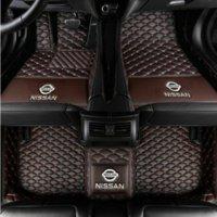 volle scheinwerfer großhandel-Anwendbar für Nissan Limousinenauto 2008-2015 Scheinwerfer fächerförmige Auto-Innenmatte rutschfeste Matte ungiftige Matte