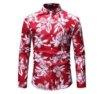 roupas de noivo venda por atacado-Mens camisas de smoking de manga comprida botão para baixo camisas de vestido primavera outono casamento noivo camisa social homens roupas tamanhos grandes