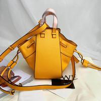 ingrosso pelle di amaca-Borsa del progettista di marca borsa amaca di cuoio italiana 2019 nuova borsa a tracolla delle signore del sacchetto del messaggero di modo di alta qualità