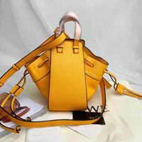 italyan deri çanta toptan satış-Marka tasarımcı çanta İtalyan deri hamak çanta 2019 yeni yüksek kalite moda Messenger çanta bayanlar omuz çantası