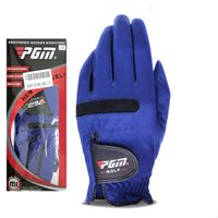 sèche-gants achat en gros de-Gants de golf bleus Superfiber Mâle Sport de plein air Gants Tissu de traction Force élastique Pas de ventilation serrée Gants magiques à séchage rapide ZZA872