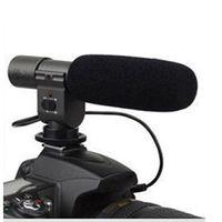Wholesale dslr pro for sale - Group buy New Pro DV Stereo miniphone Mic for Nikon DSLR Camera D5100 D7000 D300s D3s