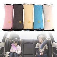 chicote de carro do bebê venda por atacado-Travesseiro de bebê Kid Car Travesseiros Auto Segurança Cinto de segurança Almofada de Ombro Pad Harness Proteção Travesseiro de Apoio Para Crianças Criança