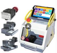 máquinas de corte portátiles al por mayor-La mejor máquina de corte de llaves para autos duplicada inteligente portátil SEC-E9 SEC E9 versión multi idioma