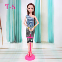 Wholesale rag dolls china resale online - Fashion Clothes Dolls for CM Dolls Female s Outfit Casual Wear T shirt Blouse Short Skirt Dress Pants Trousers Girls Birthday Toys Gifts