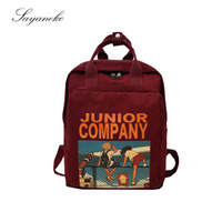 Wholesale stylish bags for girls resale online - Women Backpacks for School Teenagers Girls Fashion Stylish School Bags Ladies New Nylon Fabric Backpack Female Bookbag Mochila