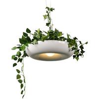 ingrosso vasi da fiore moderni-JML Pianta in vaso Lampada a sospensione Paralume Lampada moderna Luce per cucina Soggiorno Vasi da fiori per piante o piante grasse in crescita