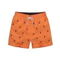 мужской задний карман оптовых-14 Colors Mens Brand Board Shorts Embroidery Back Pocket Designed Summer Beach Wear for Male Colorful Quick Dry Swim Shorts