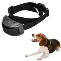 colliers d'entraînement électriques pour chiens achat en gros de-Collier de chien réglable vente à six vitesses réglable collier non-aboiement Anti-aboiements de chien formation collier de chien électrique Nouveau