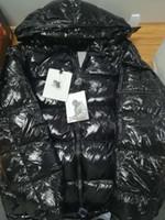 dış kat fermuarı toptan satış-Kış 19ss Erkek Tasarımcı Ceket Sonbahar Kış Kalın Coat Siyah Aşağı Coat Fermuar Moda Marka Coat Açık Spor Ceketler Asya Boyut