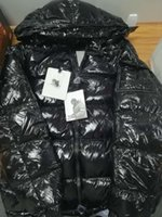 Wholesale mens winter outdoor sports for sale - Group buy Mens Designer Jacket Autumn Winter Thick Coat Black Down Coat Zipper Fashion Brand Coat Outdoor Sport Jackets Asian Size ss Winter