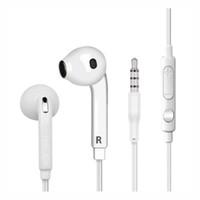 iphone oreille couleur écouteur achat en gros de-Écouteur intra-auriculaire de couleur fruit 3,5 mm avec micro et oreillette de contrôle du volume à distance pour Ip 6 7 Sams S6