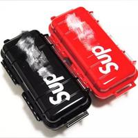 aa batteriekastenabdeckungen großhandel-Flut Marke Brief gedruckt Werkzeugkasten Mode-Design wasserdichte trendige Werkzeugkästen Outdoor tragbare langlebige Werkzeug Aufbewahrungskoffer