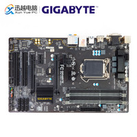 Wholesale gigabyte motherboard i3 for sale - Group buy Gigabyte GA Z97 HD3 Desktop Motherboard Z97 HD3 Z97 LGA Core i7 i5 i3 DDR3 G SATA3 USB3 HDMI VGA DVI PCI E ATX