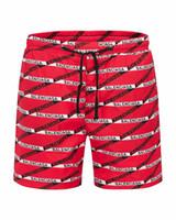 señuelos personalizados al por mayor-Pantalones cortos de playa Monogram raya s marca diseñador de los mejores pantalones de playa polo de verano surf de playa traje de baño para nadar Marcas europeas y americanas