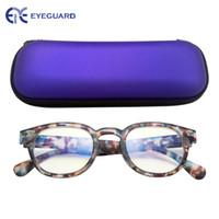 meninos óculos azul venda por atacado-Vidros de computador de bloqueio claros azuis para crianças, proteção UV Eyewear Lentes antiofuscantes de bloqueio eyebrows para meninos e Gilrs