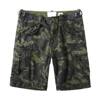 Wholesale military clothing army for sale - Group buy Camouflage Cargo Shorts Man Casual Cotton Shorts Military Army Style Boardshorts Plus Size Summer Men Clothes T200422
