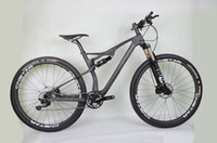 Wholesale new made bicycle resale online - WINICE new EPS made complete full carbon mountain bike disc brake full MTB bicycle BB92 UD matt Shi groupsets