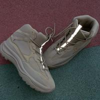 moto estrella al por mayor-diseño de lujo Kanye desierto Martin botas de moda de lujo 2020 zapatos de marca zapatos de la estación 6 de deportes al aire libre de los hombres de la estrella zapatos deportivos botín de los hombres