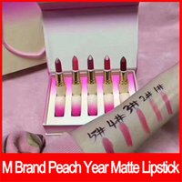 Wholesale 2018 Lip makeup M Brand lips Makeup Set retro Matte Lipstick lip kit matte lipstick rouge a levres set