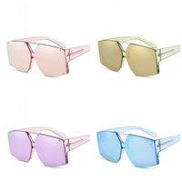 ingrosso occhiali in metallo-Metal Arrow Irregolare Rivet Occhiali Retro Marine Lens Occhiali da sole color caramella Uomini e donne Occhiali per uso generico Easy To Clean 19jrc I1