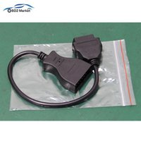 Wholesale 16 pin gm connector resale online - Newest OBD2 Cable For GM Pin to Pin Connector Adapter Male to Female OBDII Extension Converter Auto OBD II PIN Pin